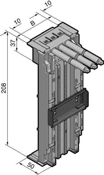 Rittal OM-Adapter 65A 690V,AWG 6 SV 9340.700   mg-elektro24
