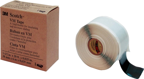 3M Telecommunications Isolierband 38mm x6m x0,6mm VM-BAND 38x6x0,6