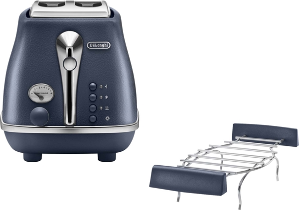 DeLonghi Toaster Icona Elements CTOE 2103.BL Oceanbl