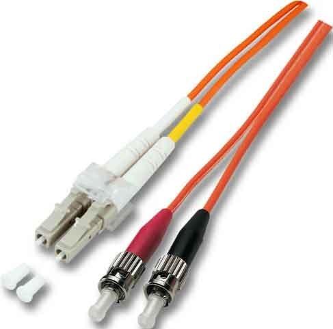 LWL Duplexkabel 2m 2xLC/2xST 50/125 O0321.2