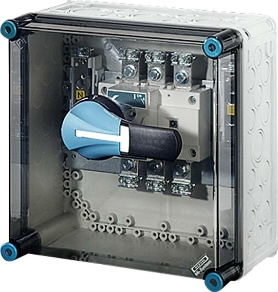 Hensel Lastschaltergehäuse 160A 3p.+PE+N Mi 7256 | mg-elektro24