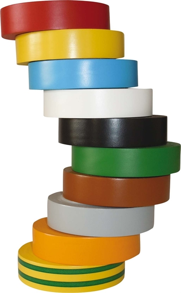 Hellermann PVC Isolierband-Set 10 versc HTAPE-FLEX15MX-15X10