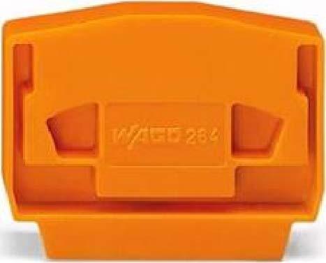 WAGO Abschluß-u.Zwischenplatte grau 4mm dick 264-368