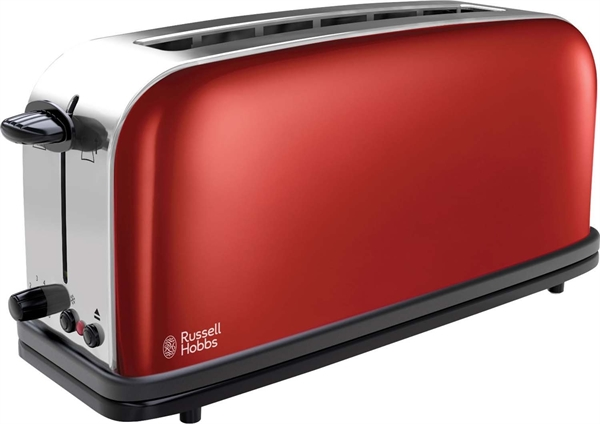 Russell Hobbs Langschlitz-Toaster Colours 21391-56 Flame Red