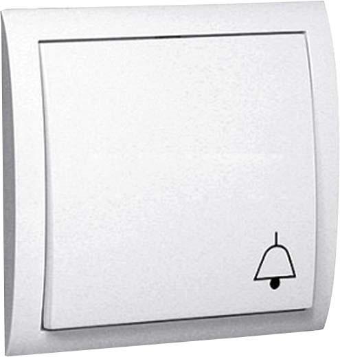 Grothe Unterputz-Flächentaster weiß max. 230V/1,5A ETA 1321N