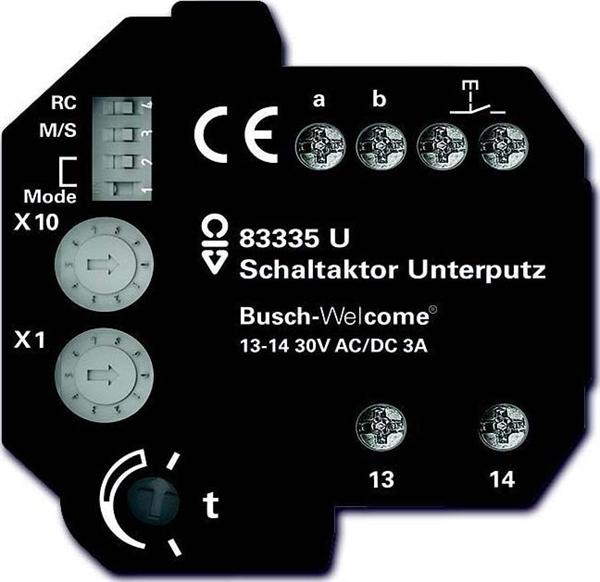 Busch-Jaeger Schaltaktor UP für Türkom.-Bus 83335 U
