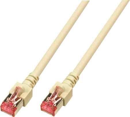 Patchkabel Cat.6 2xRJ45 mit S/FTP EC6000 2m gr S/FTP