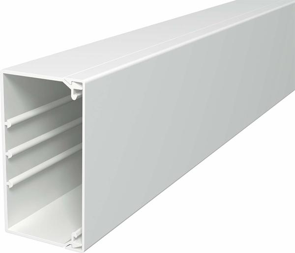 OBO Bettermann Wand- & Deckenkanal mit Oberteil 60x110mm PVC WDK60110LGR